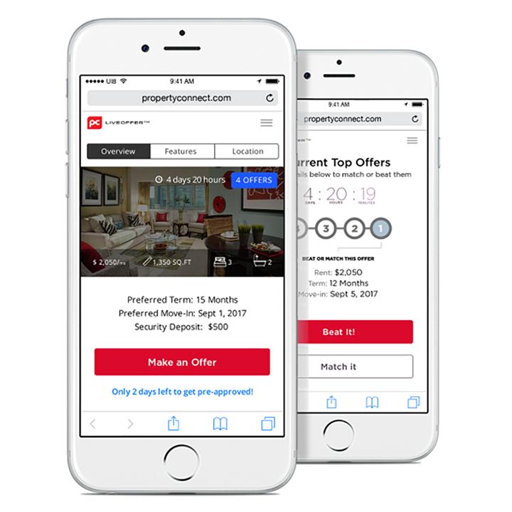 LiveOffer Property Connect, une application d'enchères de location pour perturber le marché locatif australien