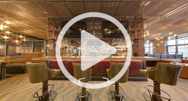 Visite virtuelle du bowling Ace of Lanes par imagerie 360
